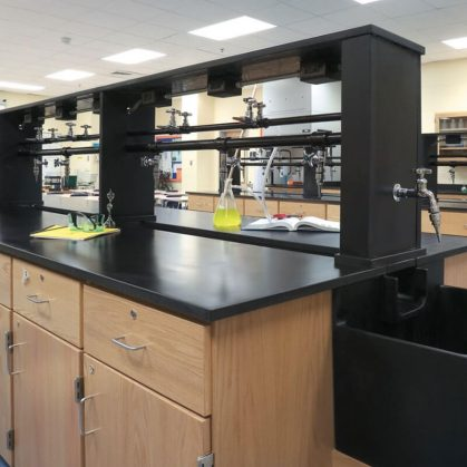 Laboratory Casework Wood